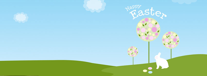 Happy Easter Facebook Timeline Covers