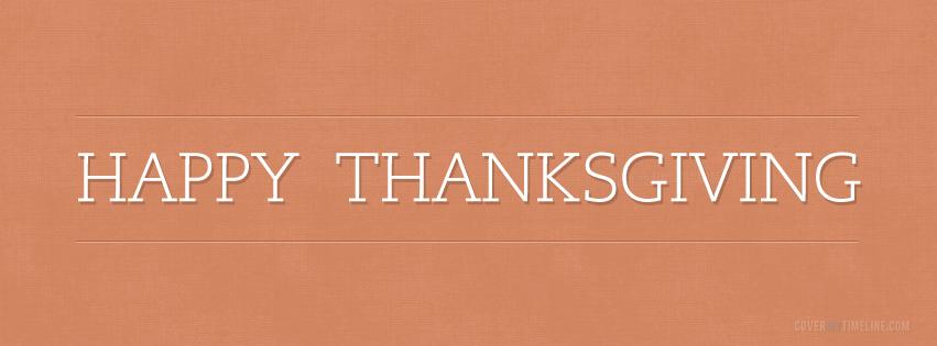 Thanksgiving - Happy Thanksgiving Simple | Free Facebook ... Thanksgiving Cover Photos For Facebook Timeline