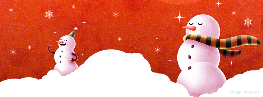 Christmas - Happy Winter Snowmen - Free Facebook Covers ...