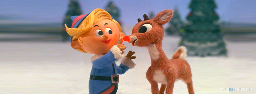 Christmas - Rudolph the Red-Nosed Reindeer | Free Facebook Covers ...