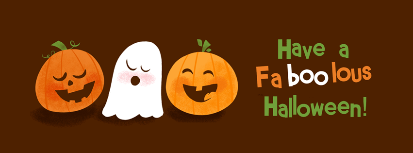 have a faboolous halloween facebook timeline cover