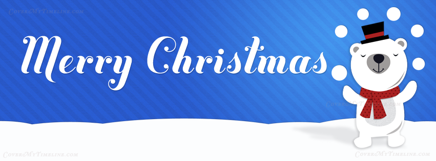 christmas-happy-holidays-polar-bear-facebook-timeline-cover