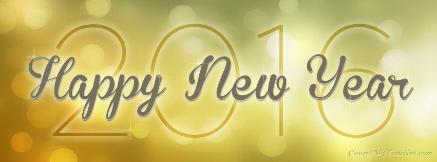 Happy New Year Happy New Year 2016 Free Facebook Covers
