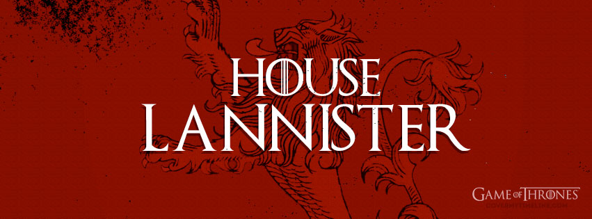 game of thrones house lannister sigil free facebook covers
