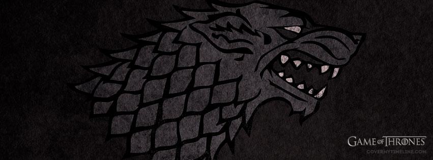 stark wolf sigil